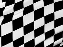 Abstract checkered flag Royalty Free Stock Photos