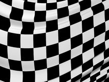 Abstract checkered flag Royalty Free Stock Images