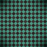 Abstract checkered green background  Stock Image