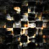 Abstract checkered grunge background Stock Image