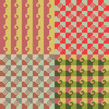 Abstract checkered pattern Stock Photos