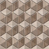 Abstract checkered pattern - seamless background - Blasted Oak Royalty Free Stock Photography