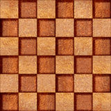 Abstract checkered pattern - seamless background - Carpathian Royalty Free Stock Images