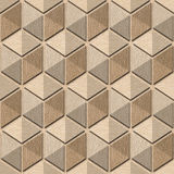 Abstract checkered pattern - seamless background, White Oak wood Stock Photo