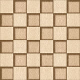 Abstract checkered pattern - seamless background - White Oak Royalty Free Stock Photo