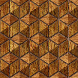 Abstract checkered pattern - seamless background - wood paneling Stock Image