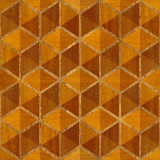 Abstract checkered pattern - seamless background - wood texture Stock Image