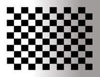 Abstract checkered tile Stock Image