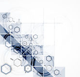 Abstract chemical formula technology business background Royalty Free Stock Photography