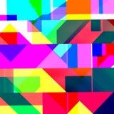 Abstract chemisch glitching effect Willekeurige digitaal signaalfout Abstract eigentijds textuur achtergrond kleurrijk pixelmozaï royalty-vrije illustratie