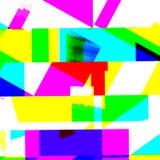 Abstract chemisch glitching effect Willekeurige digitaal signaalfout Abstract eigentijds textuur achtergrond kleurrijk pixelmozaï Stock Fotografie