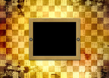 Abstract chess  background for design Royalty Free Stock Photo