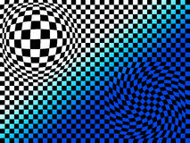 Abstract chess board. Look background Royalty Free Stock Photos