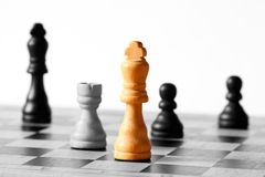 Abstract chess A Royalty Free Stock Photo