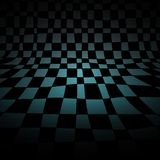 Abstract chess room Stock Photography