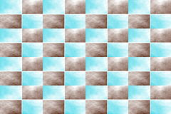 Abstract Chessboard Stock Image