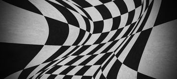 Abstract chessboard texture. Abstract black and white chessboard texture Stock Images