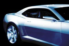 Abstract Chevrolet Camaro Concept Car Stock Photo