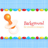 Abstract Children's Background Royalty Free Stock Image