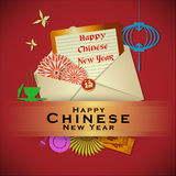 Abstract chinese new year Royalty Free Stock Photography