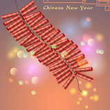 Abstract chinese new year Stock Photography