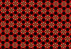 Abstract Chinese pattern wallpaper Stock Photography