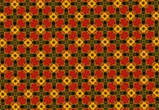 Abstract Chinese pattern wallpaper Stock Photo