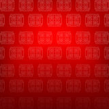 Abstract chinese red background vector illustration 002 Stock Photos
