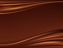Abstract chocolate background Stock Photography