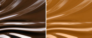 Abstract chocolate and caramel background Royalty Free Stock Photo