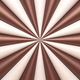 Abstract chocolate and cream background Stock Images