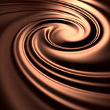 Abstract chocolate swirl background Royalty Free Stock Photo