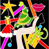 Abstract christmas Royalty Free Stock Photography