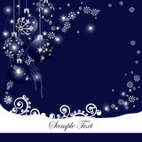 Abstract christmas background. Vector illustration in AI-EPS8 format Stock Image