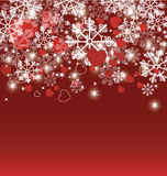 Abstract christmas background. Vector illustration in AI-EPS8 format Royalty Free Stock Photography