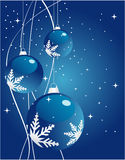 Abstract christmas background. Abstract christmas blue  background Stock Image