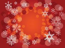 Abstract christmas background. With snowflakes,  is available Stock Photography