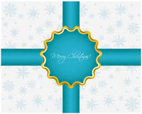 Abstract Christmas background. With snowflakes Stock Images
