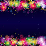 Abstract Christmas Background. Stock Image