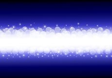 Abstract christmas background. With a stars Stock Photography