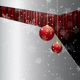 Abstract Christmas background. Beautiful illustration Stock Photo