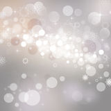 Abstract Christmas background. With snowflakes Stock Image