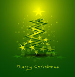 Abstract christmas background. Abstract background with green christmas tree Royalty Free Stock Photo