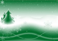 Abstract christmas background Stock Photography