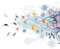 Abstract christmas background Stock Photos