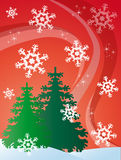 Abstract Christmas background Stock Image