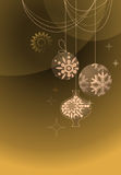 Abstract Christmas background. Vector illustration Royalty Free Stock Photography