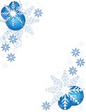 Abstract christmas background. Christmas frame Royalty Free Stock Photos