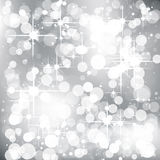 Abstract Christmas Background. With bokeh effect Royalty Free Stock Photos