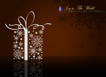 Abstract Christmas Background. Christmas Celebration Concept. Vector and Illustration, EPS 10. Stock Photos